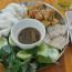 Bún đậu chả cốm mắm tôm-món ăn dân dã Hà Thành